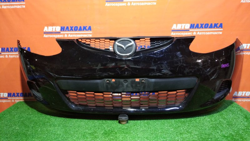 Бампер Mazda Demio DE3FS ZJ-VE 2007 передний 1мод/заглушки/есть царапины