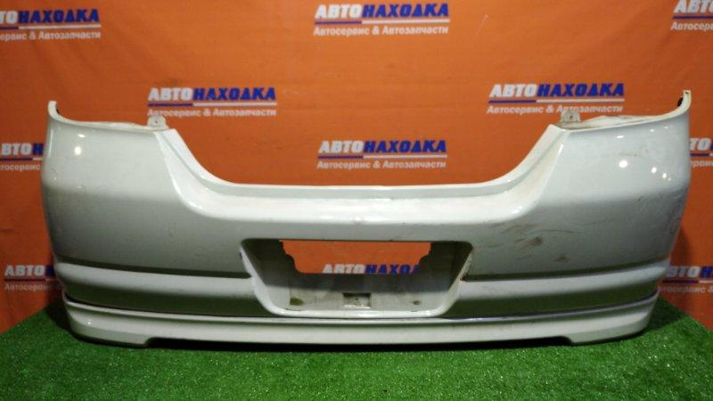 Бампер Nissan Tiida C11 HR15DE 2004 задний QX1/ есть потертости
