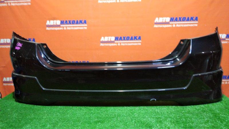 Бампер Honda Fit GD1 L13A 2001 задний B92P/ есть потертости/с обвесом