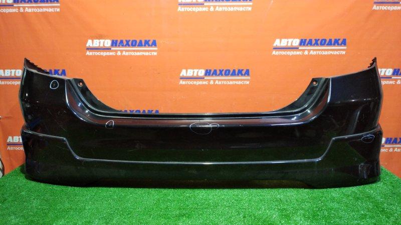 Бампер Honda Fit GD1 L13A 2001 задний B92P/ ХТС/с обвесом