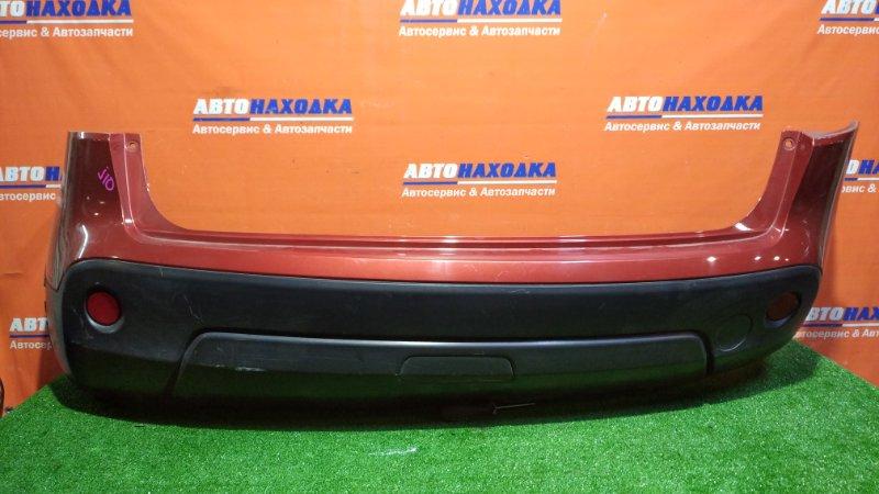 Бампер Nissan Qashqai J10 MR20DE 2006 задний A52 / ХТС