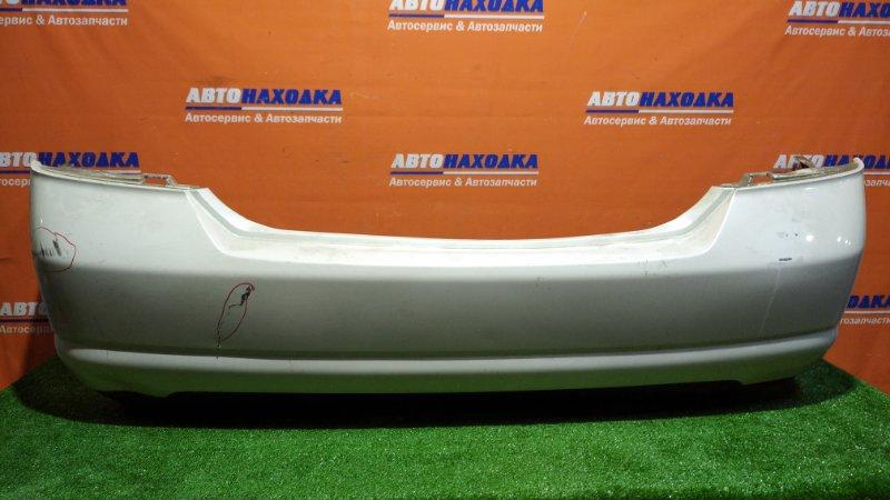 Бампер Nissan Tiida Latio SC11 HR15DE 2008 задний QX1/ под покраску