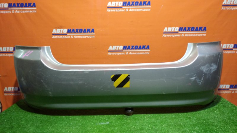Бампер Toyota Corolla Runx NZE121 1NZ-FE 2001 задний 1мод/под покраску/ правое крепление сломано