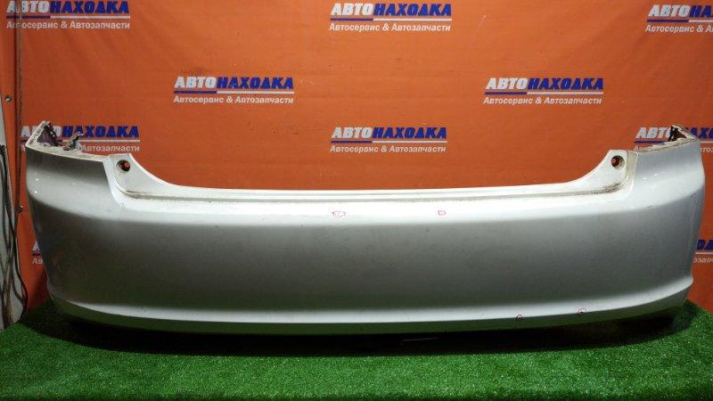 Бампер Honda Accord CL7 K20A 2002 задний NH624P/нет одной катафоты/есть коцки