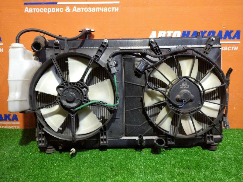 Радиатор двигателя Honda Airwave GJ1 L15A 2002 всборе