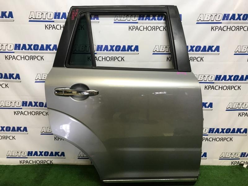 Дверь Mazda Verisa DC5W ZY-VE 2006 задняя правая задняя правая, в сборе, серая (38P), вмятинка,