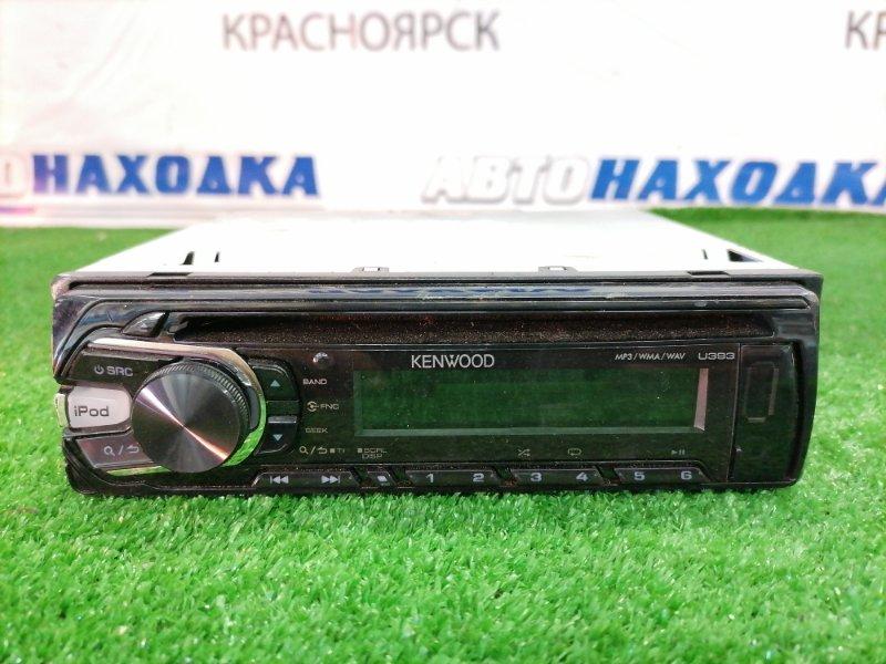 Магнитола Honda Stream RN1 D17A 2000 KENWOOD U393D. MP3 USB CD AUX. Made in indonesia. Без фишки.