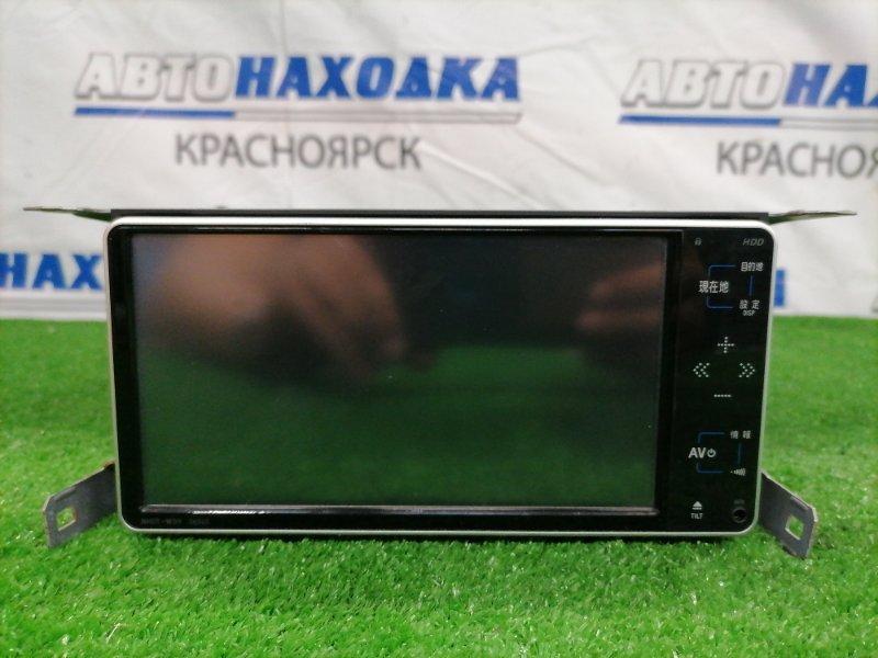Магнитола Toyota Sienta NCP81G 1NZ-FE 2003 08545-00S40, NHDT-W59 NHDT-W59. DVD/ MP3/ AUX/CD/HDD. Запись на встроенный