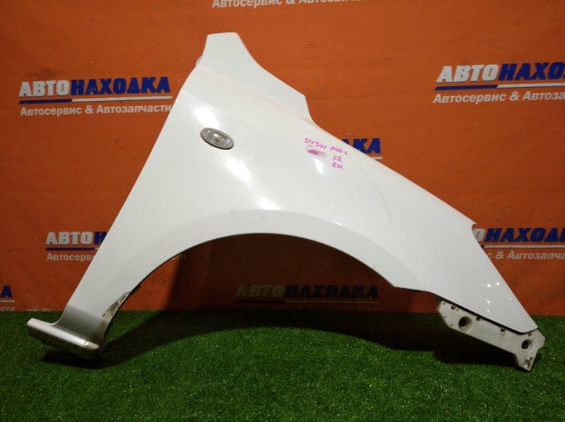 Крыло Mazda Demio DY3W ZJ-VE 2005 переднее правое A4D/ 2мод/ клипса/ повторитель /ХТС