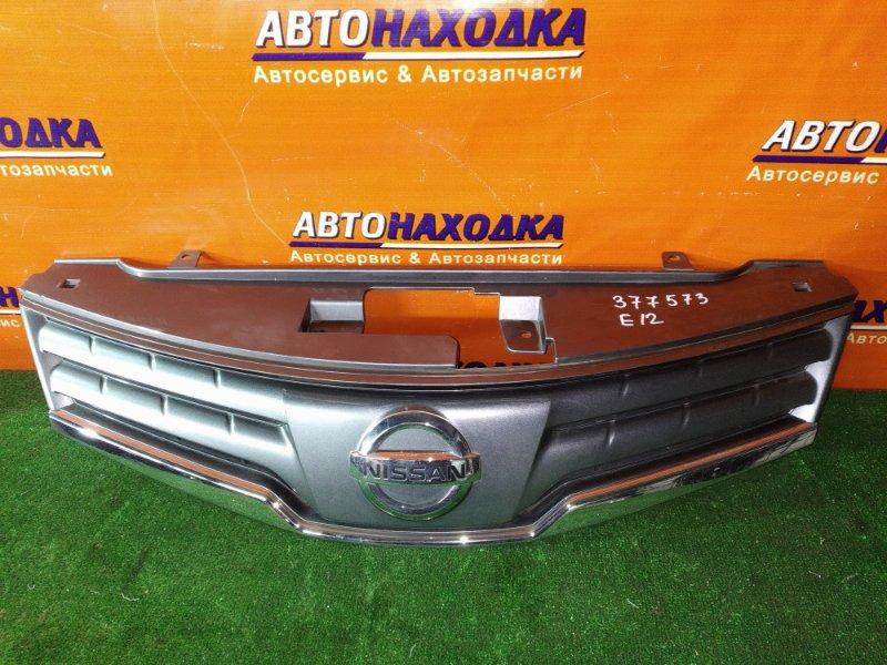 Решетка радиатора Nissan Note E12 HR12DE 62310-8Y20A