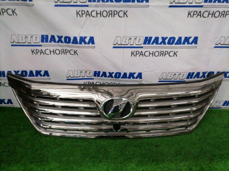 Решетка радиатора Toyota Vellfire ANH20W 2AZ-FE 2008 53101-58150 Доестайлинг (2 мод.), есть дефект хрома,