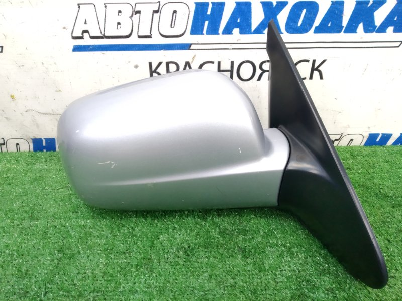 Зеркало Honda Hr-V GH3 D16A 2001 переднее правое правое, серебристое (NH623M), 5 контактов,