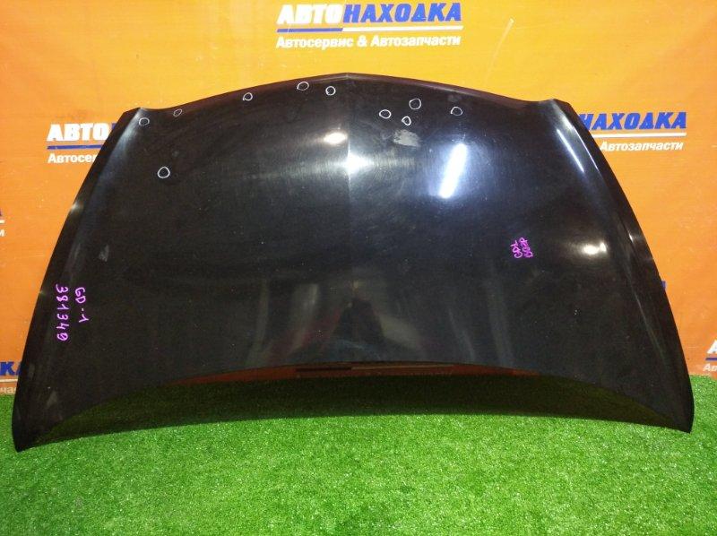 Капот Honda Fit GD1 L13A 2001 B92P / есть сколы