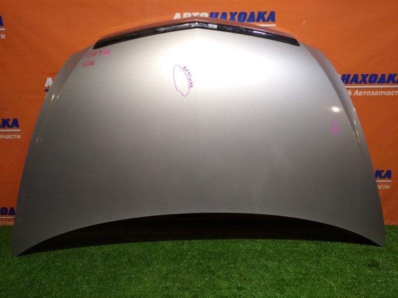 Капот Honda Fit Aria GD6 L13A 2002 NH623M / 1мод / есть скол