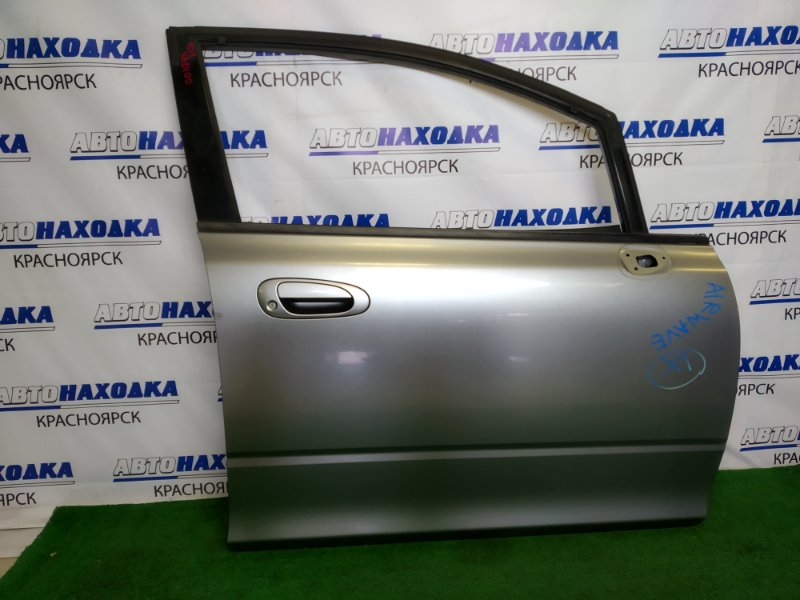 Дверь Honda Airwave GJ1 L15A 2005 передняя правая передняя правая, серая, без подъемника и блока