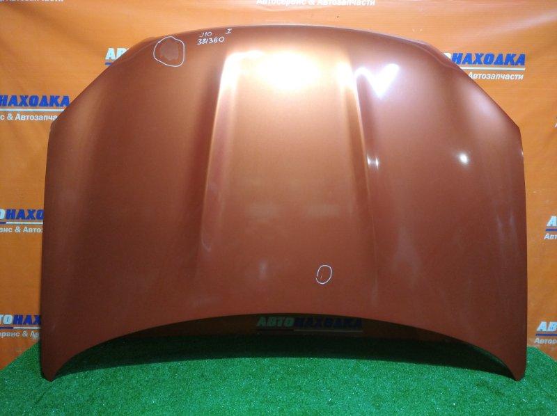 Капот Nissan Qashqai J10 MR20DE 2006 A52 /есть потертости