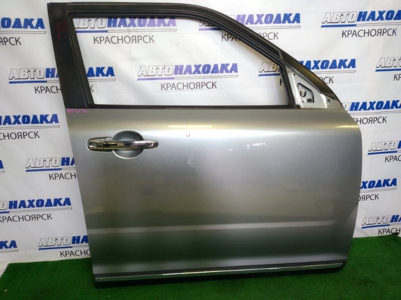 Дверь Mazda Verisa DC5W ZY-VE 2006 передняя правая передняя правая, серая (38P), вмятинка,