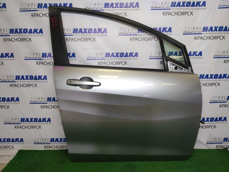 Дверь Mazda Premacy CWEFW LF-VDS 2010 передняя правая передняя правая, серая, царапинки, вмятинка,