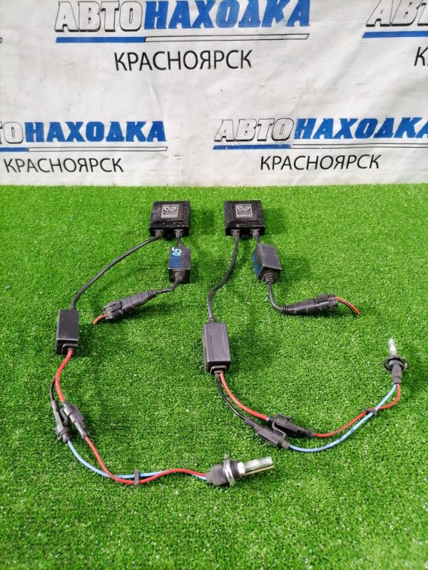 Блок розжига ксенона Bmw 320I E90 N46B20B 2005 нештатный комплект : COBRA 35W 12V, 2 блока + 2 лампы,