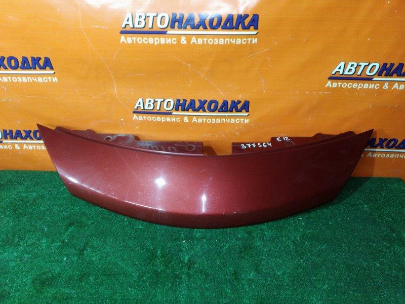 Решетка радиатора Nissan Note E12 HR12DE 62320-3VA0H