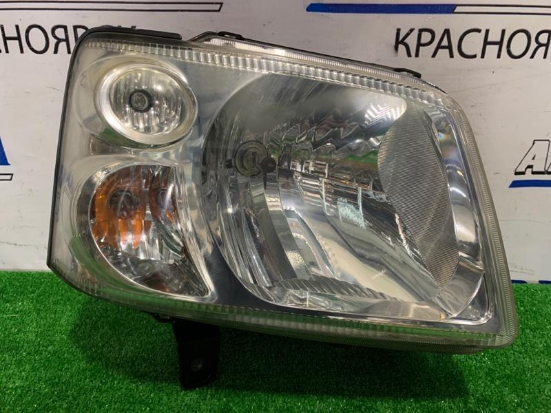 Фара Suzuki Wagon R Solio MA34S M13A 2002 передняя правая P5293 Правая, корректор, P5293. Дефект отражателя.
