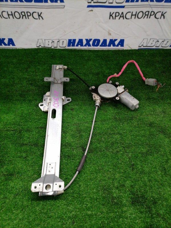 Стеклоподъемник Honda Fit Aria GD6 L13A 2002 передний правый Передний правый, с фишкой 6 контактов