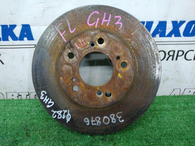 Диск тормозной Honda Hr-V GH3 D16A 2001 передний передний, 282 мм