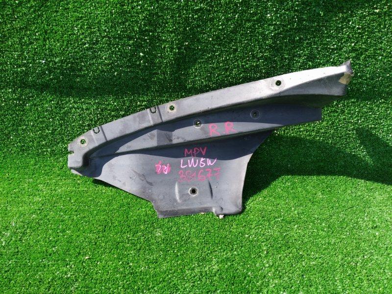 Подкрылок Mazda Mpv LW5W GY 24.04.2001 задний правый