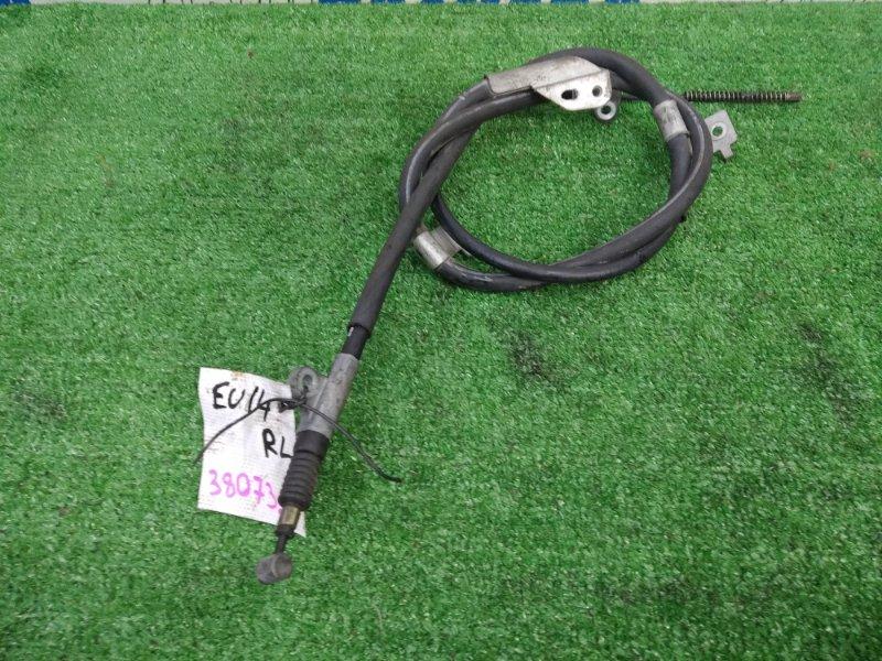 Трос ручника Nissan Bluebird EU14 SR18DE 1996 задний левый задний левый, под барабанные тормоза,