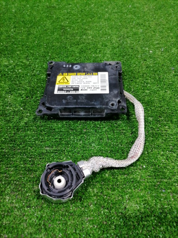 Блок розжига ксенона Toyota Estima ACR50W 2AZ-FE 2006 85967-20010 под лампу D4R / D4S, с проводом на лампу