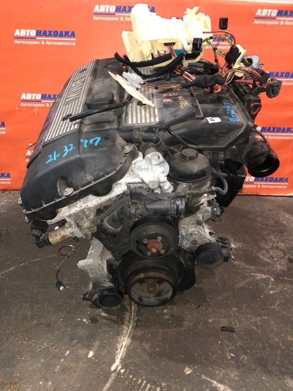 Двигатель Bmw 525I E60 M54B25 2003 № 3590 3186 /86т.км/2х ваносный / частично без навесного