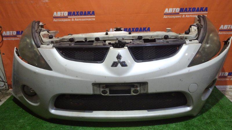 Ноускат Mitsubishi Grandis NA4W 4G69 2003 1мод / W23 / AT всборе / 2 радиатора / усилитель бампера/ фары