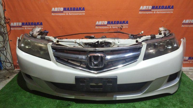 Ноускат Honda Accord CL7 K20A 2005 2мод/NH624P / A/T / всборе /2 радиатора/усилитель бампера/замок
