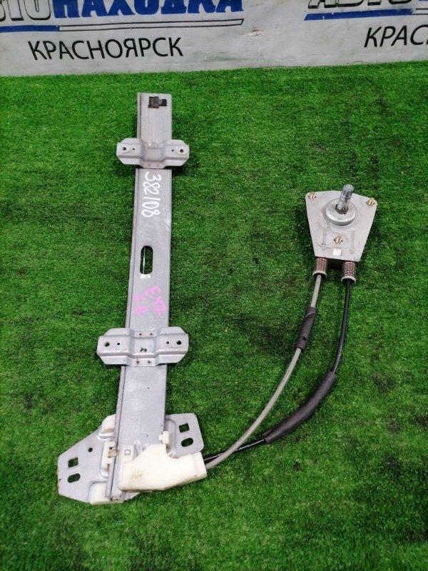 Стеклоподъемник Honda Partner EY7 D15B 1996 передний правый передний правый, механический.