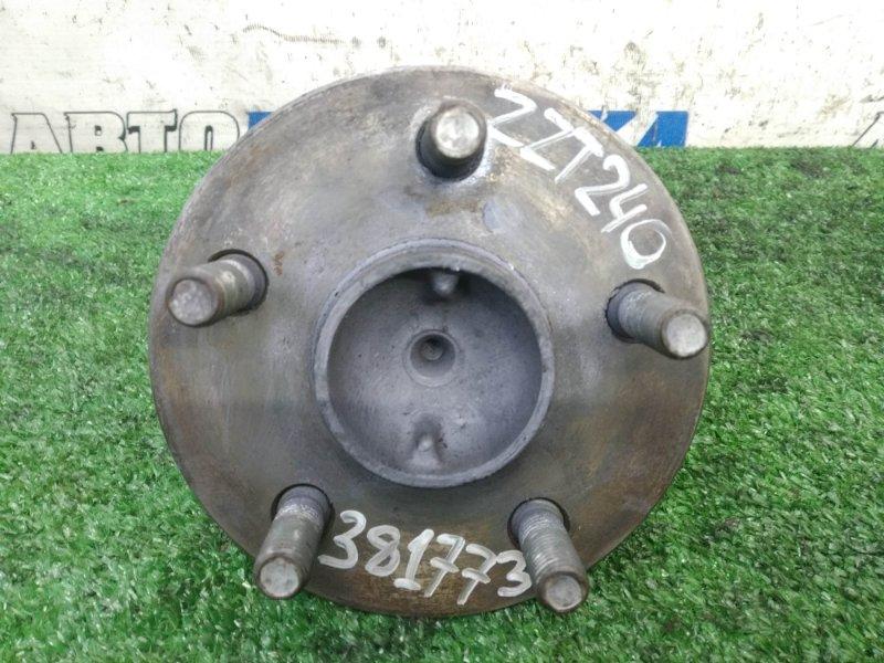 Ступица Toyota Premio ZZT240 1ZZ-FE 2001 задняя ХТС, задняя, подшипник-моноблок, пробег 37 т.км.