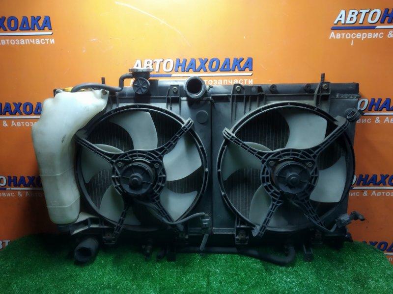 Радиатор двигателя Subaru Legacy BH5 EJ201 01.2000 С ТРУБКАМИ ОХЛАЖДЕНИЯ. С ДИФФУЗОРОМ