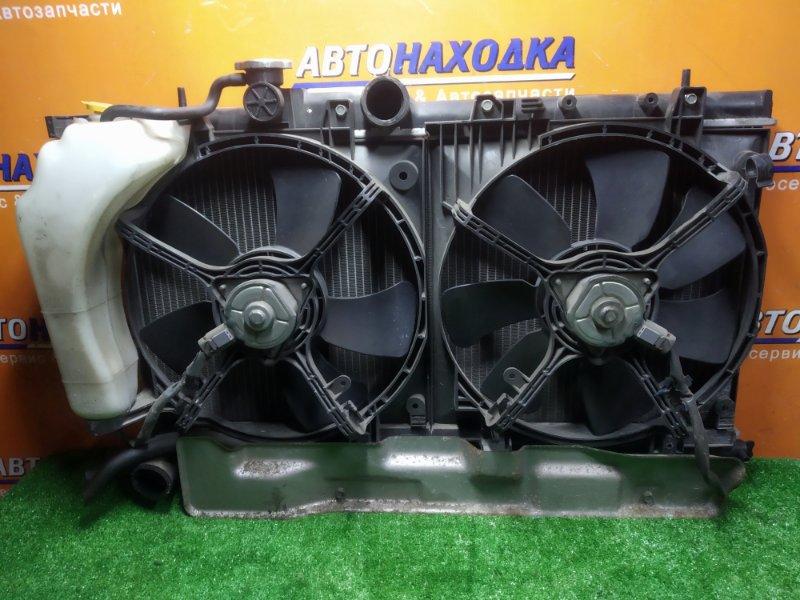 Радиатор двигателя Subaru Impreza GGC EL154 07.2006 С ТРУБКАМИ ОХЛАЖДЕНИЯ. С ДИФФУЗОРОМ