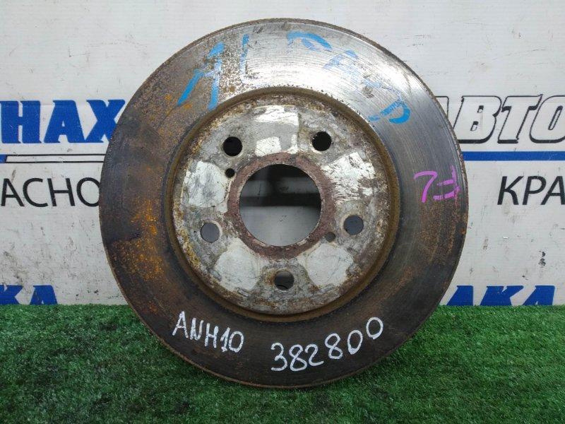 Диск тормозной Toyota Alphard ANH10W 2AZ-FE 2002 передний передний, 296 мм