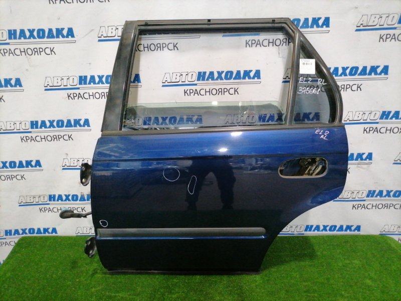 Дверь Honda Orthia EL2 B20B 1995 задняя левая Задняя левая, без внешней ручки, цвет B96P. Есть