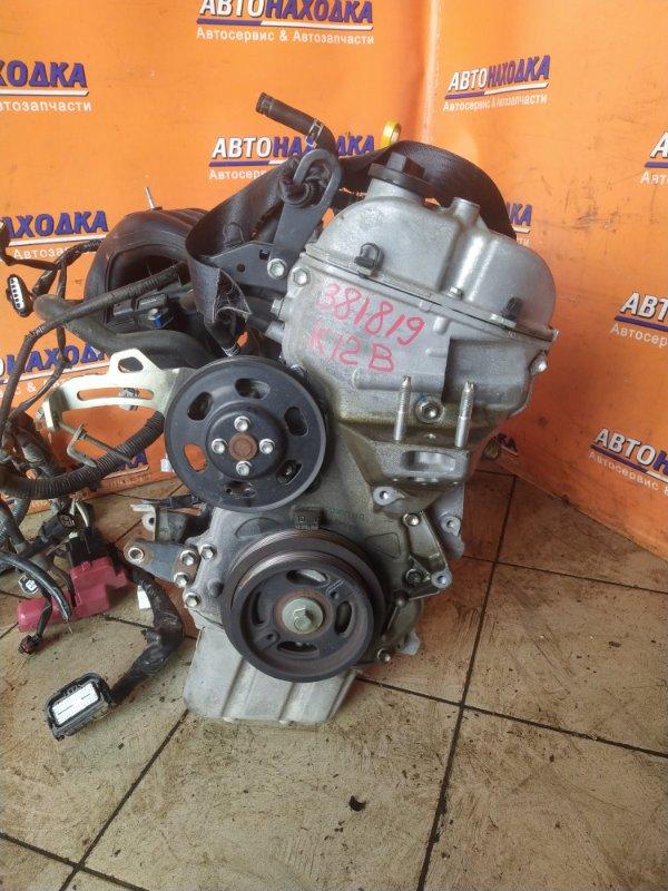 Двигатель Suzuki Swift ZC71S K12B 1285344 БЕЗ НАВЕСНОГО. 91 Т.КМ.