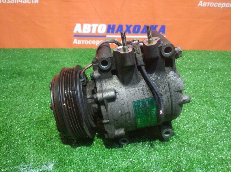 Компрессор кондиционера Honda Fit Aria GD6 L13A 2002 1 мод