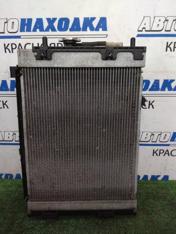 Радиатор двигателя Daihatsu Move L175S KF-VE 2006 В сборе с диффузором, вентилятором,