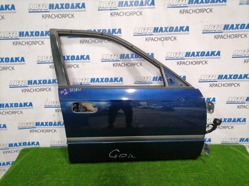 Дверь Honda Orthia EL2 B20B 1995 передняя правая Передняя правая, без стекла, стеклоподъемника,