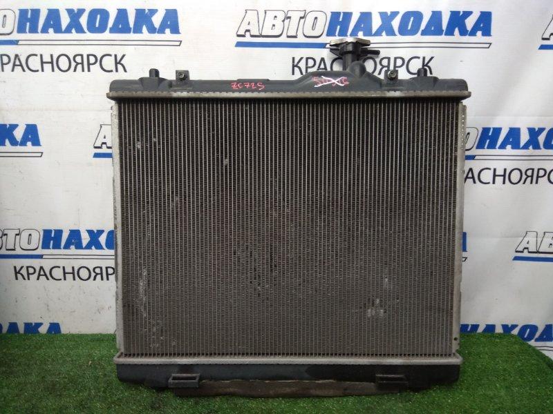 Радиатор двигателя Suzuki Swift ZC72S K12B 2010 В сборе с диффузором и вентилятором, без