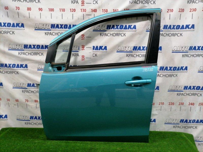 Дверь Suzuki Splash XB32S K12B 2008 передняя левая передняя левая, без стекла. Есть царапины.