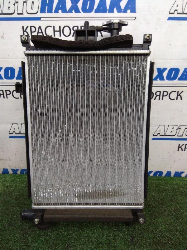 Радиатор двигателя Mazda Carol HB36S R06A 2015 В сборе с диффузором, вентилятором,