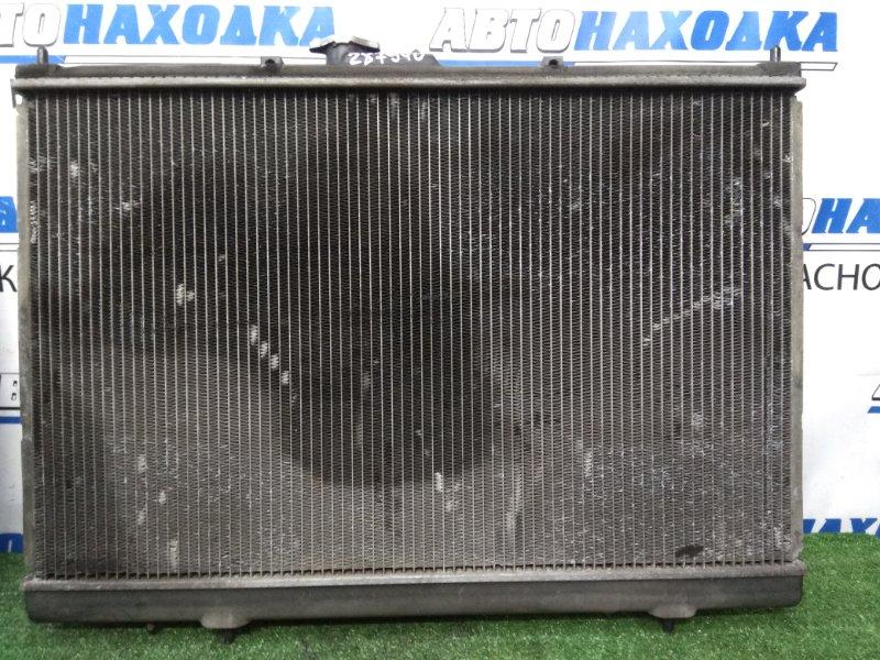 Радиатор двигателя Mitsubishi Chariot Grandis N84W 4G64 1997 А/Т, в сборе с диффузорами и