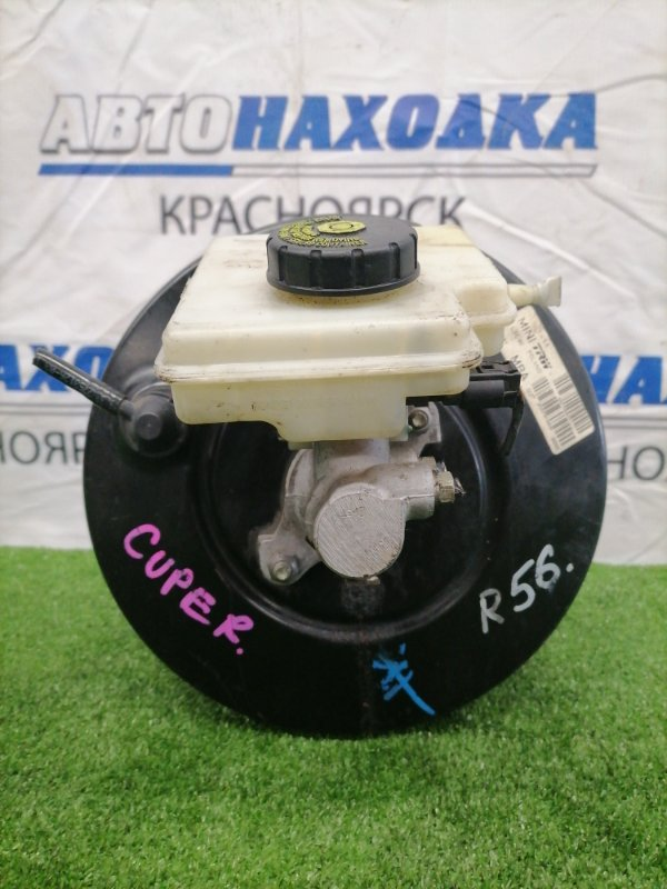 Главный тормозной цилиндр Mini Cooper R56 N12B16A В сборе, с вакуумом, бачком, датчиком