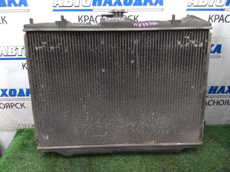 Радиатор двигателя Isuzu Wizard UES73FW 4JX1 1998 A/T, с диффузором