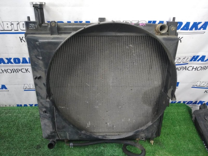 Радиатор двигателя Toyota Granvia VCH10W 5VZ-FE 1997 A/T, с диффузором
